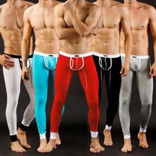 Pants Legging Underwear Long Men's Winter Autumn Trousers Pouch Bulge Fitness Sexy Breathable