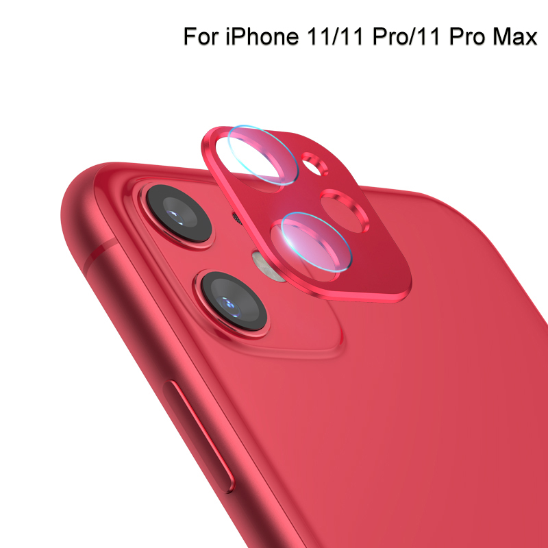 Camera Screen Protector For IPhone 11 Pro Max + Back Lens Protection Ring Case For Apple IPhone 11 XR Glass Film Accessories