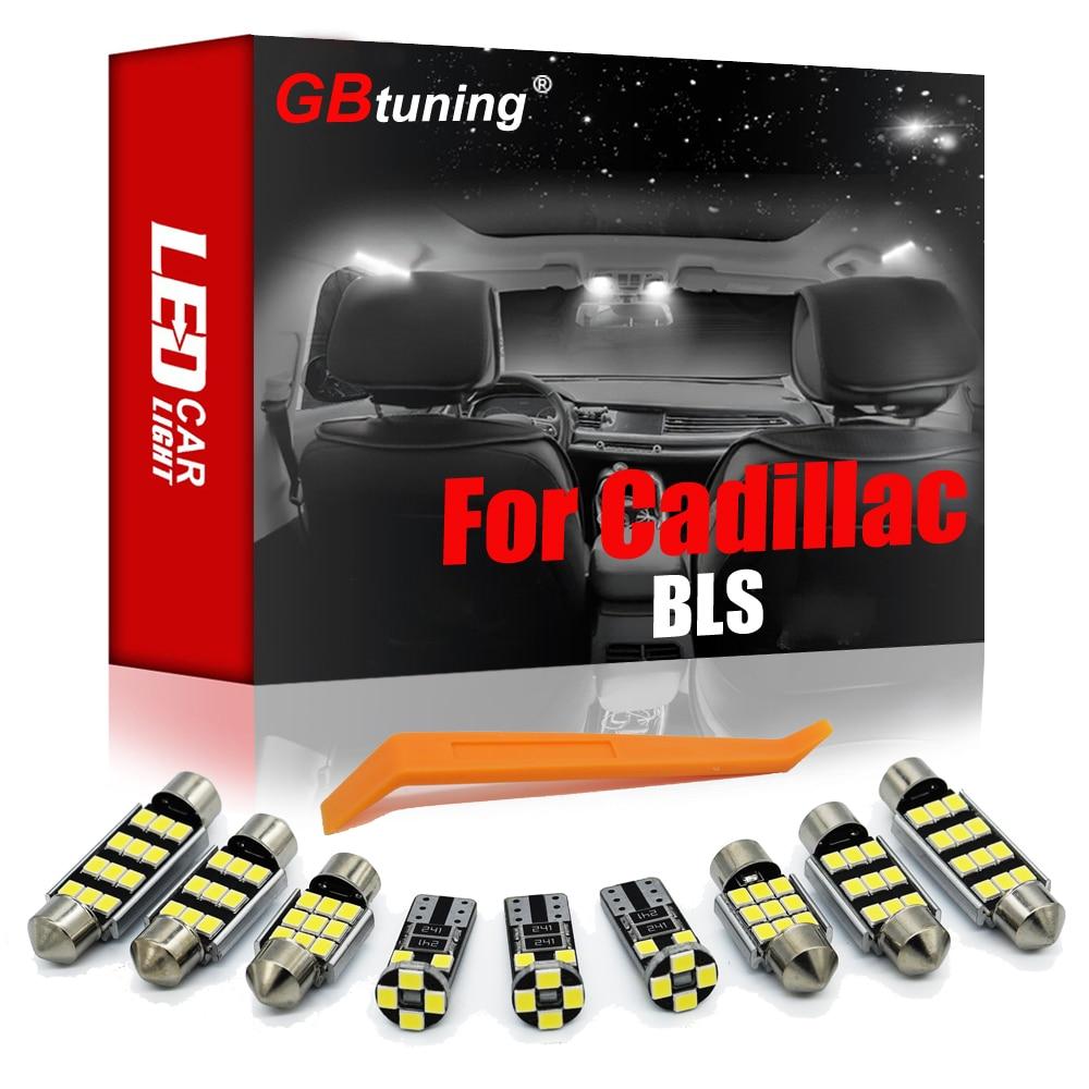 GBtuning Canbus Error Free светодиодный для Cadillac BLS Wagon 2006- 2018 2019 автомобиль в маскирующем колпаке для внутренних помещений лампы Интерьер светильник ко...