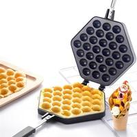 Hot QQ Egg Bubble Cake Mold Non stick Muffins Plate Cake Baking Pan Hongkong QQ Eggettes bubble Waffle Maker Fee Shipping