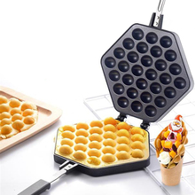цена на Hot QQ Egg Bubble Cake Mold Non-stick Muffins Plate Cake Baking Pan Hongkong QQ Eggettes bubble Waffle Maker Fee Shipping