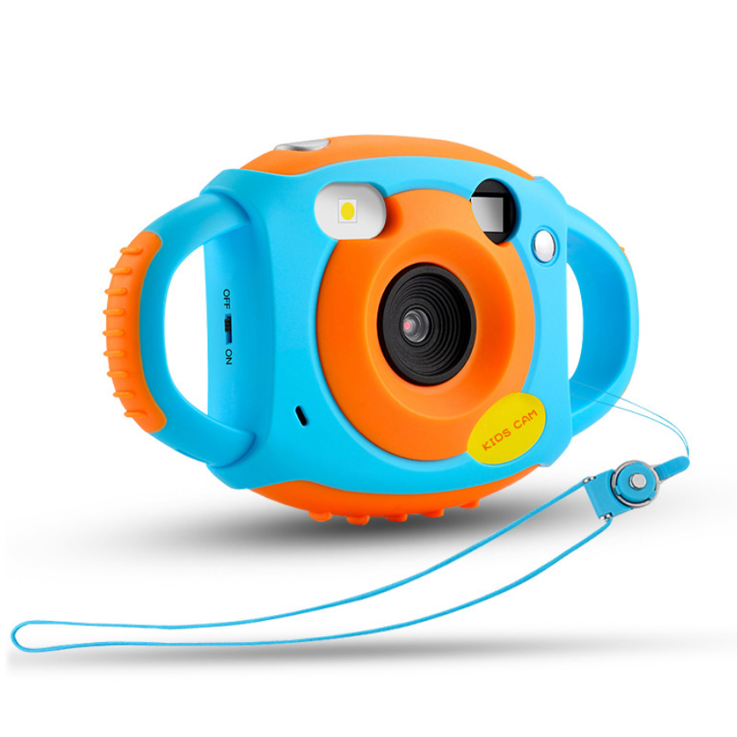 Kids Mini Digital Camera 1080P 5MP 1.77 HD Color Screen Cute Digital Camera Video With Soft Silicone Shell Handles For Children