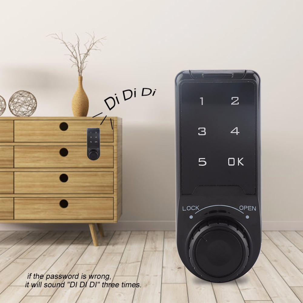 Touch Keypad Cabinet Coded Lock