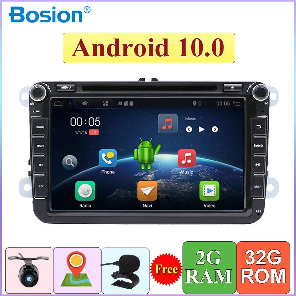 2 DIN Android 10 Car DVD for Volkswagen GOLF MK5 MK6 PASSAT B6 POLO SKODA Fabia GPS Navigation Radio USB/SD PC Canbus map|Car Multimedia Player|   - AliExpress