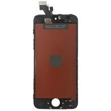 5 pçs/conjunto lcd de alta qualidade para iphone 5 5g 5S 5c 5e display lcd tela de toque assembléia 100% testado nenhum pixe