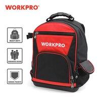 Workpro nova ferramenta mochila tradesman organizador saco de ferramentas à prova dwaterproof água sacos multifuncional mochila 17 tooltooltoolbag|Bolsas ferramenta| |  -