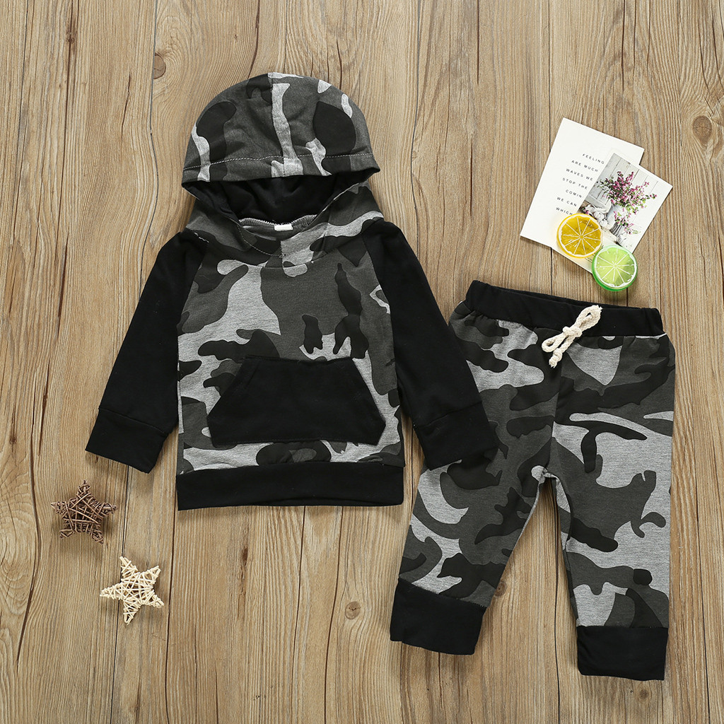 Winter Toddler Kids Baby Boys Girls Clothes Coat Shirt Tops/&Pants Outfits Set