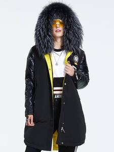 Astrid 2019 Зима новое поступление женский пуховик воротник из натурального меха с капюшоном длинное зимнее пальто для женщин AR-3022