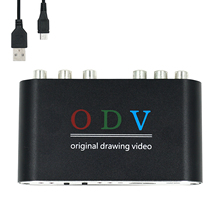 ODV for Ossc alternative Composite RCA for S Video for YPbPr Console to for HDMI Retro Gaming Converter 480p 576p