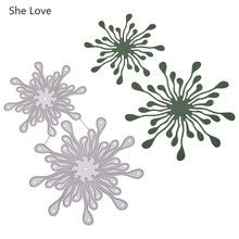 She Love Fireworks Design Metal Cutting Dies For Scrapbookin