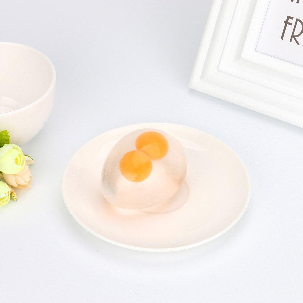 Squishy Toys Balls Egg-Splat-Ball Fidget Stress-Relief-Eggs-Yolk Fun Funky img3