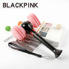 Kpop Official BLACKPINK LightStick Concert Glow Lamp hammer Light stick JISOO Lisa JENNIE ROSE Fans Gift Novelty collection(China)