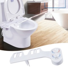 Non-Electric Bidet Toilet Seat Warm / Cold Water Controllable Self-Cleaning Bidet Nozzle-Fresh Water Bidet Sprayer Mechanical non electric bidet toilet attachment fresh water mechanical sprayer ass washer implement simple clean body irrigador orr