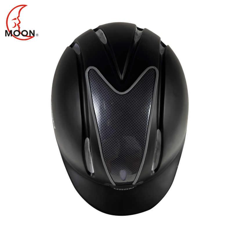 Ay yeni stil Horseriding malzemeleri binicilik kask sürme meslek kask erkekler ve kadınlar sürüş donanımları