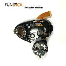 95% nuevo Original P510 unidad abierta para NIKON P510 cubierta superior con dial de modo superior cubierta de interruptor piezas de reparación envío gratis