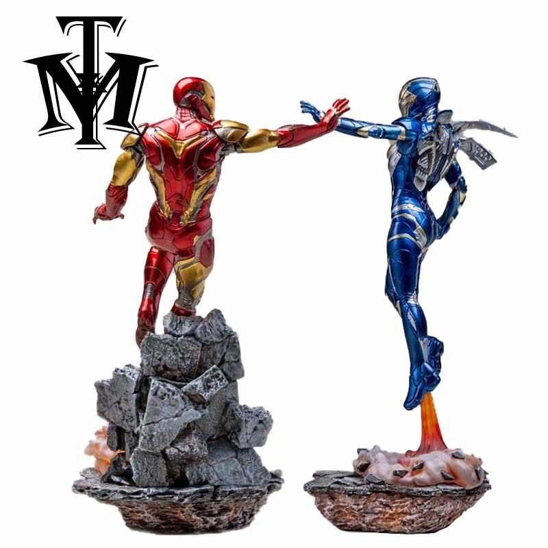 المنتقمون الرجل الحديدي سيدة فتاة ألعاب شخصيات الحركة دمى تمثال البلاستيكية Brinquedos جمع MK85 سوبر بطل الرجل الحديدي نموذج الهدايا