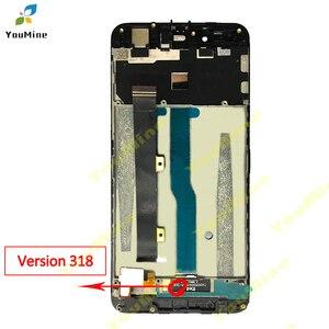 Image 2 - Cho ZTE Blade A610 Màn Hình LCD Hiển Thị Màn Hình Cảm Ứng HD Bộ Số Hóa Màn Hình LCD Khung Phiên Bản 318/A241/Yassy cho ZTE A610 Màn Hình LCD