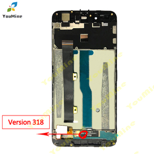 Image 2 - For ZTE Blade A610 LCD Display Touch Screen HD Digitizer Assembly lcd with frame Version 318 / A241 / YASSY For ZTE A610 lcd
