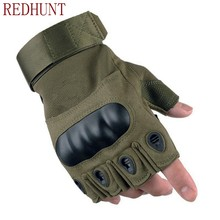 New Tactical Gloves for Military Army Outdoor Shooting Hiking Hunting Climbing Cycling Airsoft Half Finger Gloves Protective(China)