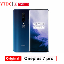 Teléfono móvil Oneplus 7 Pro con Rom global, smartphone con pantalla de 6,67 pulgadas y 3120x1440 de resolución, Android 9, Snapdragon 855 con cámaras de 48,0 MP, NFC y carga de 5V 6A