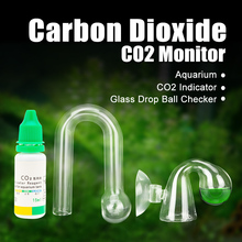 Aquarium CO2 Indicator Solution FishTank Liquid Test Plants For Co2 Monitor drop checker PH Long Term Tester