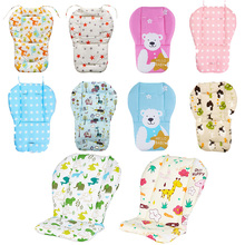 Baby Stroller Seat Soft Cushion Kids Pushchair Car Cart High Chair Seat Trolley Soft Baby Stroller Cushion Pad Accessories baby kids children high chair cushion cover booster mats pads feeding chair cushion stroller seat cushion