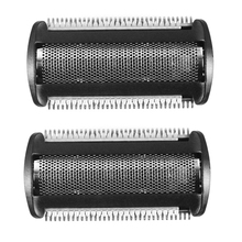 2 Pack Shaver Head Replacement Trimmer for  Bodygroom BG 2024 - 2040 S11 YSS2 YSS3 Series