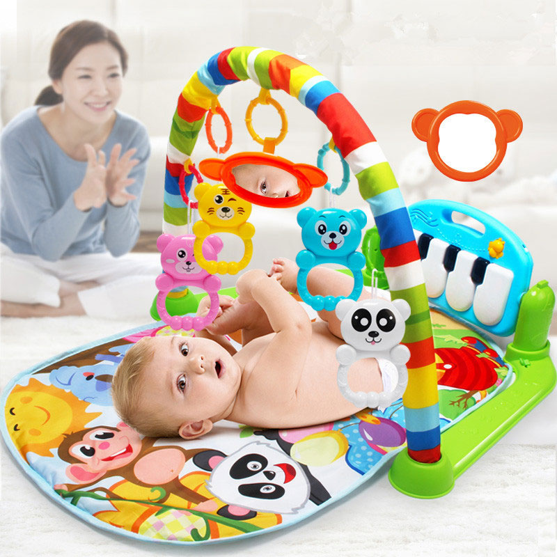 bebe piano jogar esteira lavavel musica quebra cabeca educacional rack brinquedos infantil ginasio rastejando gam almofada