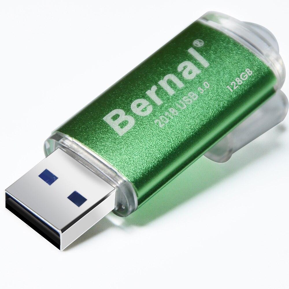 5pcs/lot Wholesale  Bernal USB Flash Drive 256GB 128GB 64GB Flash Memory Pendrive High Speed USB 2.0 Flash Pen Drive