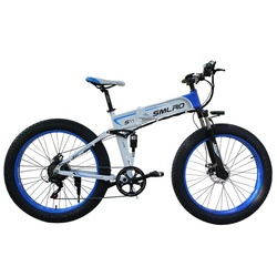 S11f New Style Factory Supply 26 Inch Folding Electric Bike/snowbike 7-speed 350w 10ah bicicleta electrica electric vehicle