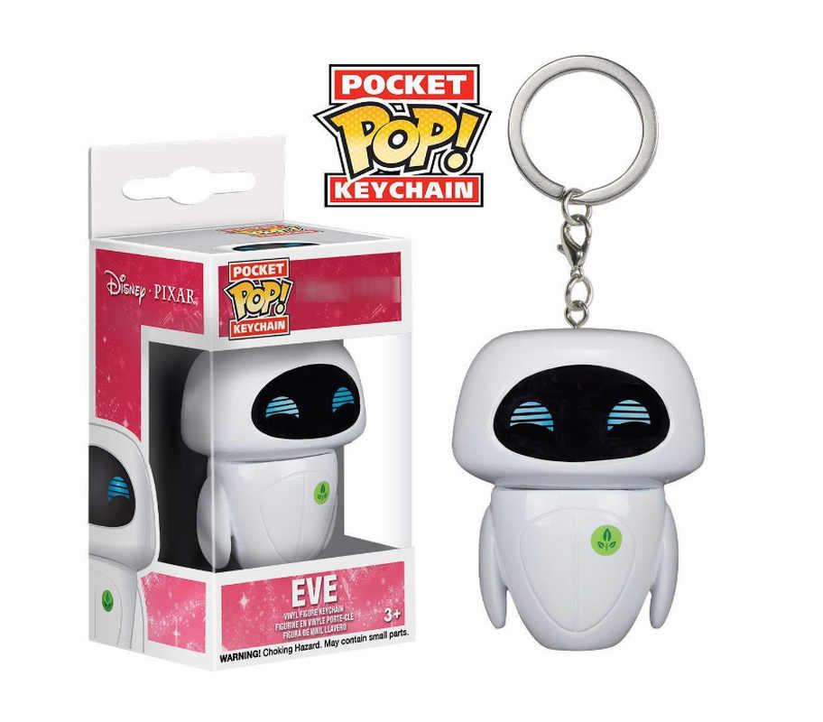 Funko POP Gudetama MAUI chuckie EVE HAPPY ABU Харли Куинн Брелок фигурка игрушки подарок