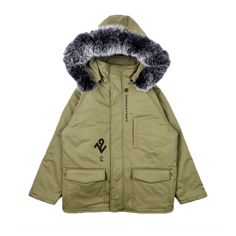 Winter Jacket Men Brand Overcoats Cotton Warm Down Coat Parkas Military Outerwear Warm Fox Fur Winter Jackets Men Down Coats