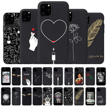 Girl Body Lover Rose Soft Case For iPhone