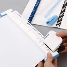Multifunctional A4 Paper 30-hole Multi-hole Punch B5 26-hole A5 20-hole Binding Clip Daolin Loose-leaf Punch Diy Manual Punch