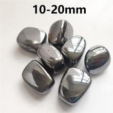 Natural hematite para fazer jóias diy pulseira acessórios terahertz pedra reiki cura artesanato natural cristais de quartzo