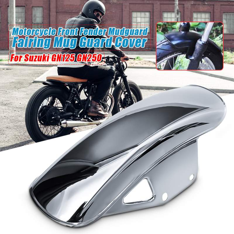 Motorcycle Front For Fender Mud Flap Mudguard Splash Guards Wheel Cover For Suzuki GN250/GN125
