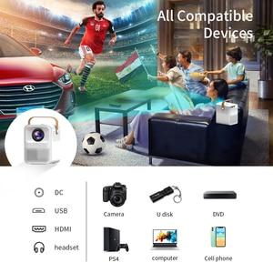 Image 5 - CRENOVA جهاز عرض صغير ET30S 1080P كامل HD أندرويد واي فاي ثلاثية الأبعاد المحمولة القاذف السينما المنزلية دعم 4K LED عارض فيديو المنزل