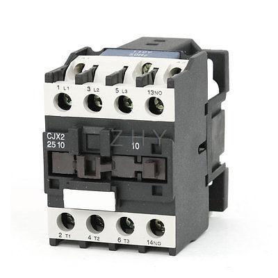 CJX2-2510 AC Contactor 110V 50/60Hz Coil 25A 3-Phase 3-Pole 1NO