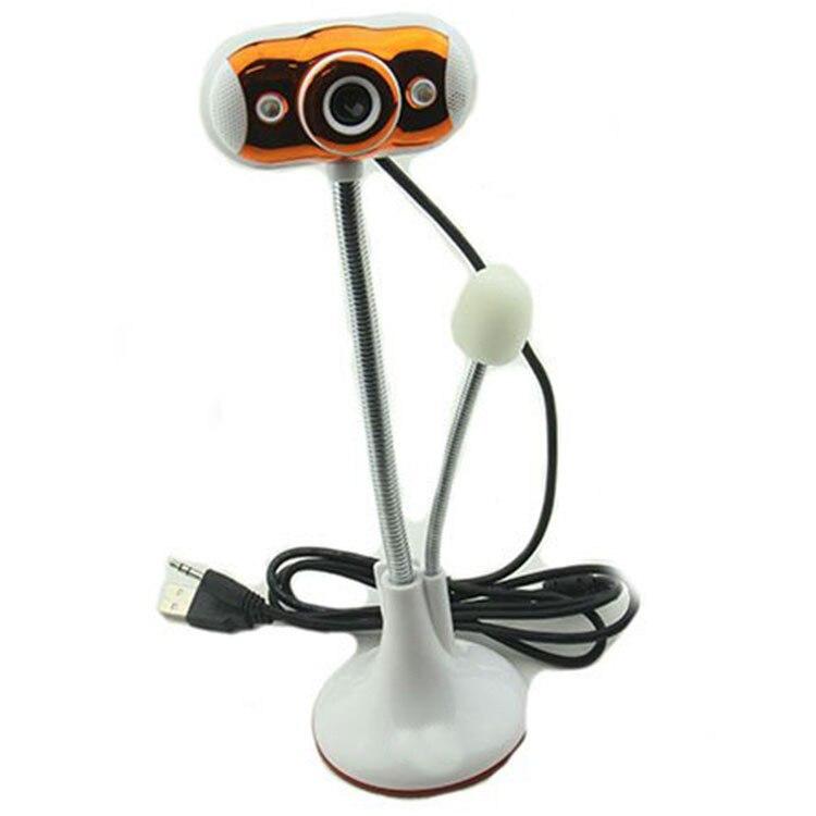 Vente directe d'usine ordinateur portable de bureau USB2.0 Webcam avec Microphone HD Installation sans pilote vidéo
