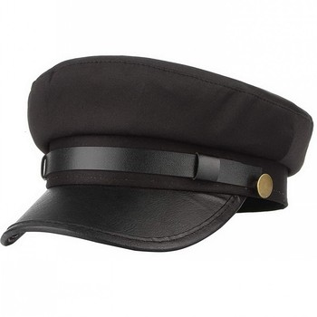 Yacht Captain Sailor Hat Newsboy Cabbie Baker Boy Peaked Beret Cap Adjustable for Men Women Driver Chauffeur British Style
