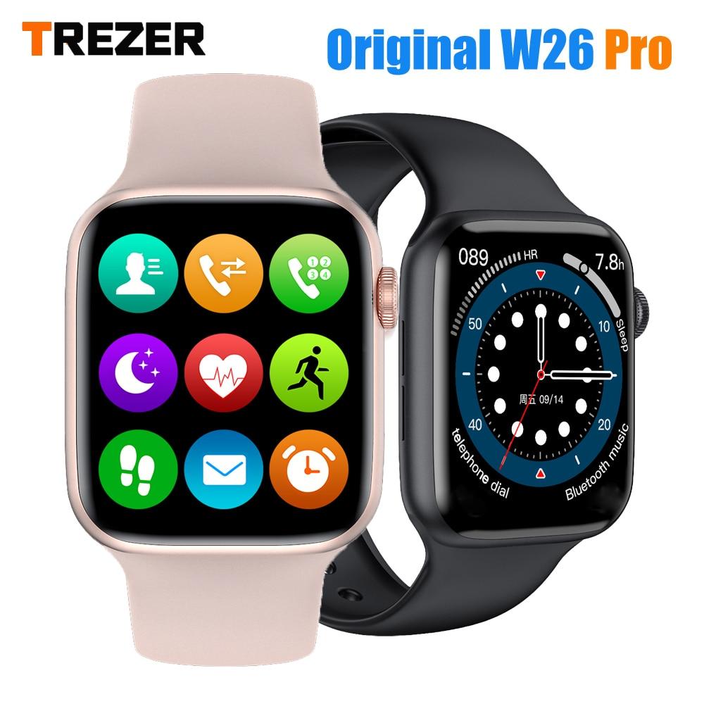 TREZER IWO W26 Pro Smart Watch 1 75 Inch 320 385 Series 6 IPS Full Touch Innrech Market.com