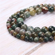 Agate Natural Stone Beads For Jewelry Making Diy Bracelet Necklace 4/6/8/10/12 mm Wholesale Strand