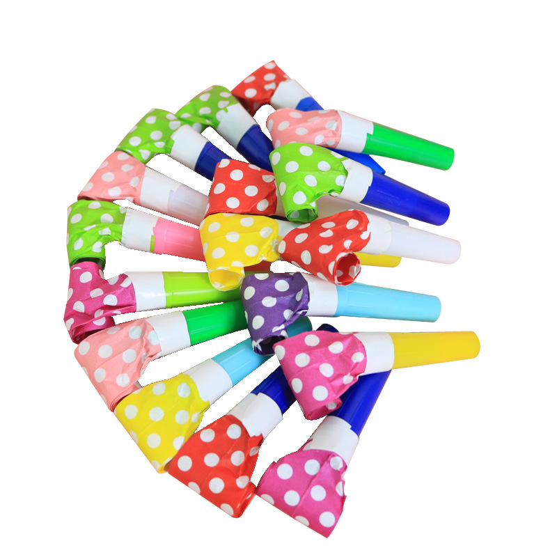1pc Children's Toys Blowing Roll Birthday Halloween Party Sweeping Small Gifts Cheering Props Party Supplies Blowing Whistle