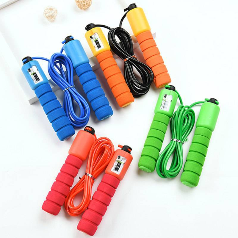Young STUDENT'S Kindergarten Children Jump Rope Count Adjustable Beginner Three-Year-Old Single Person GIRL'S And BOY'S Sports J