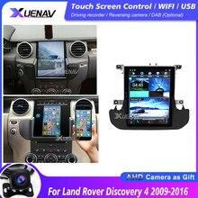 Car auto radio stereo multimedia player Para Land Rover Discovery 4 Carro 2009 2010 2011 2012 2013 2014 2015 2016 de Navegação GPS