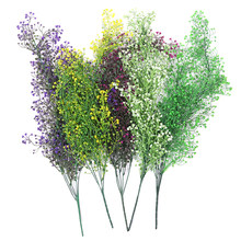 Vine Fake Foliage Floral Wisteria Artificial Flower Hanging Ivy Garland Plants Party Wedding Home Decor(China)