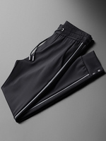 Casual Sport Mens Luxury Elastic Waist Black Man Pants Fashion Slim Fit Male Trousers Plus Size 30 40