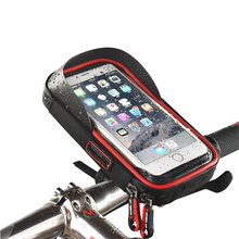 Touch Screen Mobile Phone Bag EVA Waterproof Bicycle Bracket Riding Equipment 6 Inch Large Capacity Shockproof