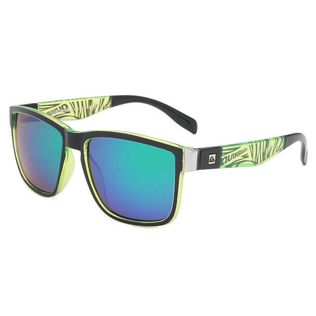 Gafas de sol cuadradas clásicas para hombre y mujer, lentes de sol coloridas para deportes al aire libre, playa, pesca, viajes, UV400 4