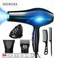 Shunlifa 2200W Potente Asciugacapelli Professionale Strumenti Asciugacapelli Ioni Negativi Asciugacapelli Elettrico Asciugacapelli Calda/Aria Fredda ventilatore